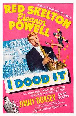 I Dood It, Red Skelton, Eleanor Powell Poster by Everett