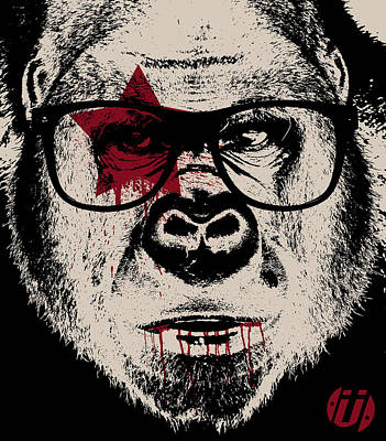 I Go Ape Poster by Eric Smith