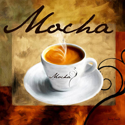 I Like  That Mocha Poster by Lourry Legarde
