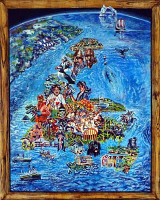 I Love Newfoundland Poster by Michael Gaudet