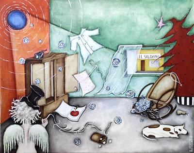 I Luv Grand-pa  Poster by Belen Jauregui