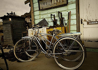 Poster featuring the photograph I Want To Ride My Bicycle 2 by James Sage