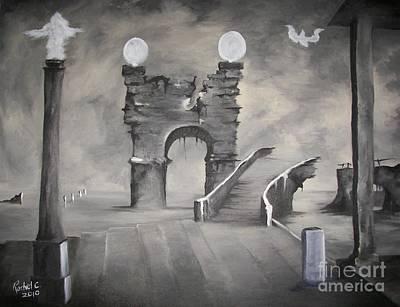 I Wont Cross That Bridge Again Poster by Rachel Carmichael