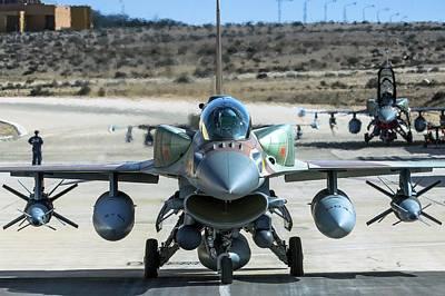 Iaf F-16i Fighter Jet Poster