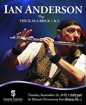 Ian At Sunrise Theater Poster by Megan Dirsa-DuBois