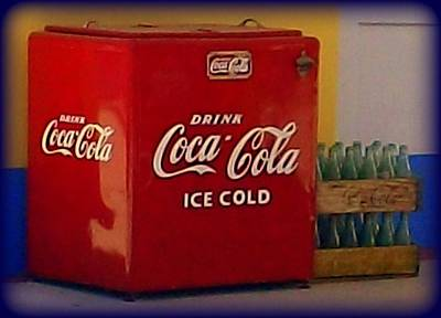Ice Cold Coca Cola Poster by Randall Weidner