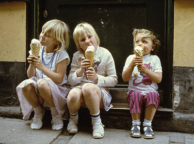 Ice Cream Treat 1980s Poster
