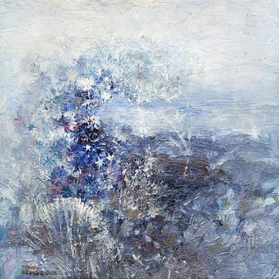 Ice Flowers Poster by Terezia Sedlakova Wutzay