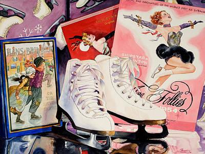 Ice Follies Poster by Judy Koenig