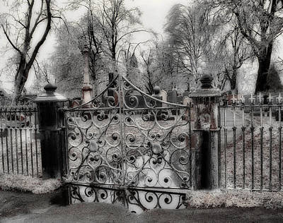 Ice On The Gate Poster by Gothicrow Images