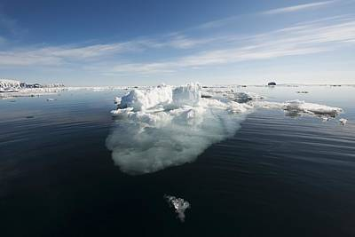 Icebergs, Norway Poster by Science Photo Library