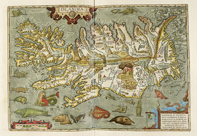 Iceland Poster by British Library