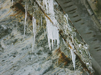 Icicles Poster by Pati Photography