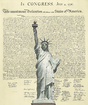 Icon Of Freedom Poster by Charles Beeler