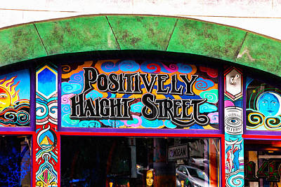 Iconic Haight-ashbury Poster