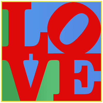 Iconic Love Poster by Paulette B Wright