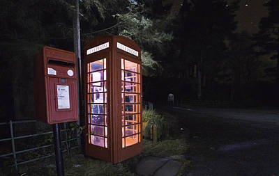Iconic Uk Phone Box  Poster by Buster Brown