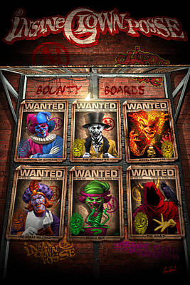 Icp Bounty Boards Poster by Tom Wood