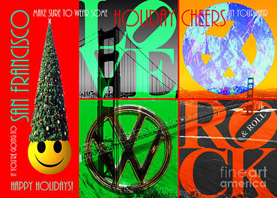 If You Are Going To San Francisco Be Sure To Wear Some Holiday Cheers In Your Hair 20140608 Poster
