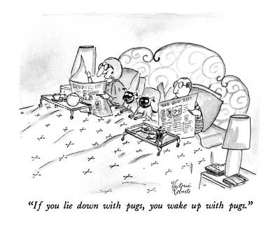 If You Lie Down With Pugs Poster