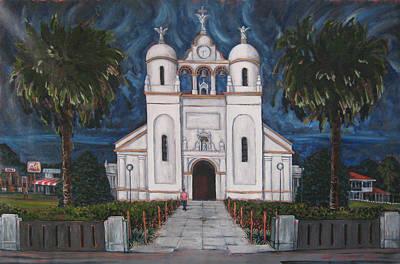 Iglesia Curridabat  Costa Rica Poster