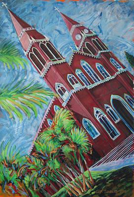 Iglesia Grecia  Costa Rica Poster