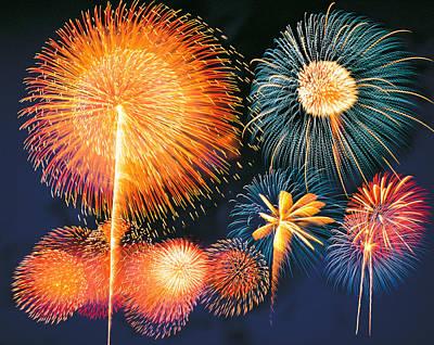 Ignited Fireworks Poster