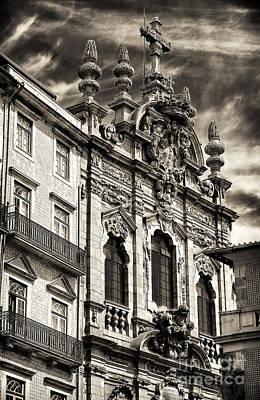 Igreja Da Miscericordia Poster by John Rizzuto