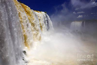 Iguazu Falls I Poster by Bernardo Galmarini