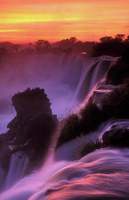 Iguazu Falls National Park Poster by Javier Etcheverry