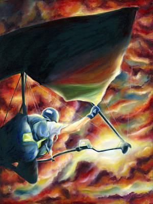 Ikaros's Wings Poster by Hiroko Sakai