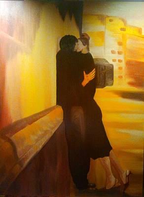 Il Bacio Poster by Carmen Cristea