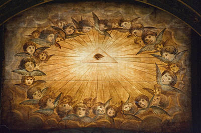 Il Gesu Ceiling Detail, Church Poster