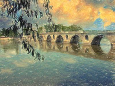Il Ponte Poster by Taylan Apukovska