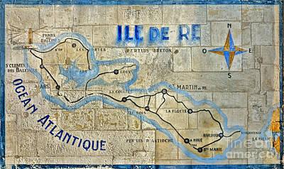 Ile De Re Poster by Olivier Le Queinec