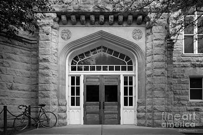 Illinois State University Cook Hall Poster by University Icons