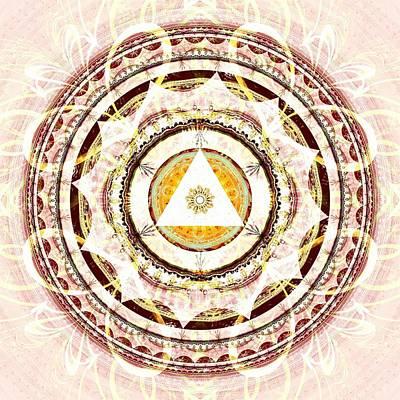 Illumination Circle Poster