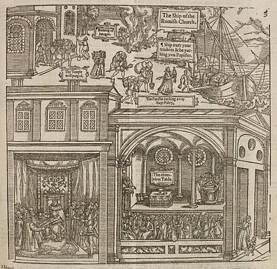 Illustration From 'foxe's Book Of Martyrs Poster by British Library