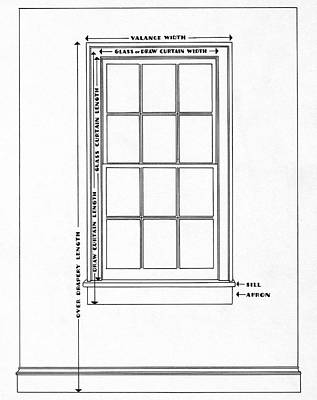 Illustration Of A Window Poster