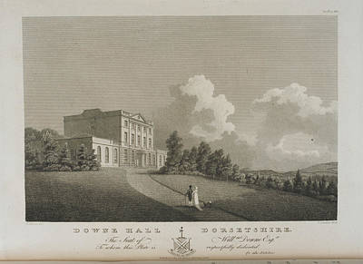 Illustration Of Downe Hall Poster by British Library
