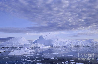 Poster featuring the photograph Ilulissat Icefjord Greenland by Rudi Prott