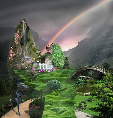 Imagination Fantasy Land Poster