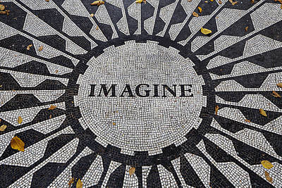 Imagine A World Of Peace Poster by Garry Gay