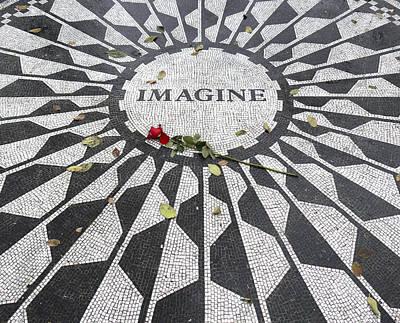 Imagine Mosaic Poster