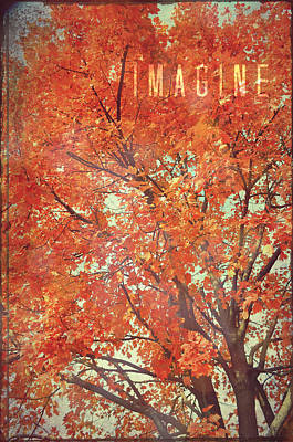 Imagine Poster by Robin Dickinson