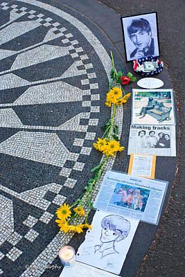 Imagine....john Lennon Poster by Ann Murphy