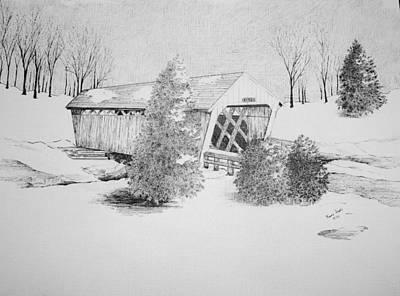 Imes Snow Bridge Poster