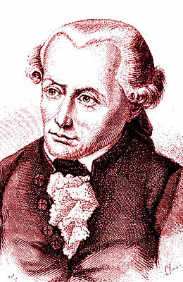 Immanuel Kant Poster by Collection Abecasis