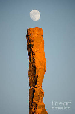 Poster featuring the photograph iMoon by Jeff Kolker