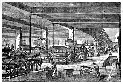 Imperial Printing Presses Poster by Science Photo Library